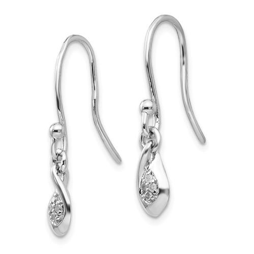 Ss White Ice Diamond Earrings